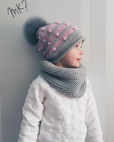 Örgü Atkı Şapka Modelleri 158 See other ideas and pictures from the category menu…. Diy Crafts Knitting, Knitting For Kids, Baby Knitting, Crochet Baby, Knit Crochet, Hat And Scarf Sets, Scarf Hat, Kids Hats, Girl With Hat