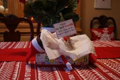 Elf on the Shelf ideas: Download Free Message Signs for Your Elf