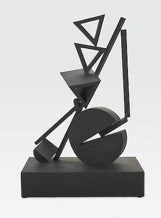FLETCHER BENTON (born 1931) Balanced-Unbalanced Three Tria