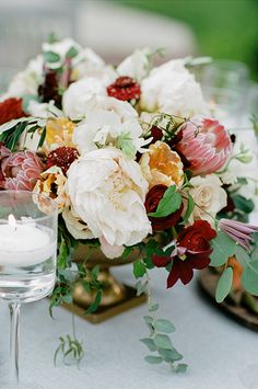 Italian inspired florals Lanson B. Jones & Co. Floral & Events