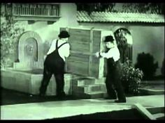 1932 Oscar Winner, The Music Box  This Sisyphean short from famed Hollywood director and producer Hal Roach was the very first live-action short film Oscar winner. The gag is on Laurel and Hardy who attempt to push a piano that doesn't want to stay put up a flight of stairs