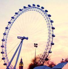 London at sunset