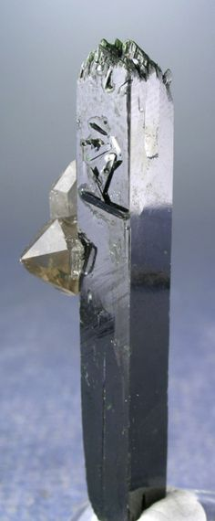 Minerals, Crystals & Fossils - Aegirine and Smoky Quartz - Mt. Malosa, Zoma,...