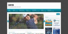 Canyon Free WordPress Theme Wordpress Template, Wordpress Theme, Best Blogs, Blogger Templates, Learning, Free, Magazine, Design, Studying