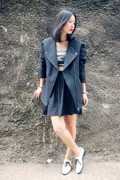 Ezzentric Topz - A not so girly fashion Blog by stylist and vintage store owner Twee Wu in Hong Kong: Contradiction