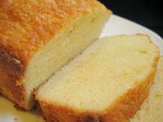 Just one more bite!: Delicious Moist Pound Cake