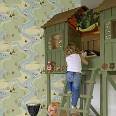Forager Kids Wallpaper - Childrens Room Decor by Graham Brown Wallpaper Childrens Room, Teen Wallpaper, Kids Room Wallpaper, Childrens Room Decor, Wall Wallpaper, Wallpaper Ideas, Kids Decor, Decor Ideas, Bronze Bedroom