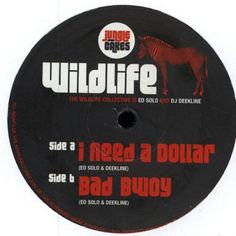 "The Wildlife Collective - I Need A Dollar / Bad Bwoy 12"" Jungle Cakes JC006"