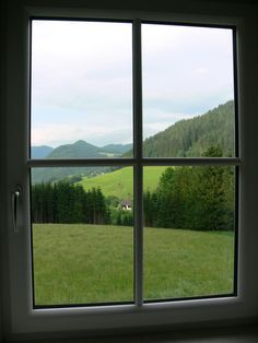 Beautiful window view
