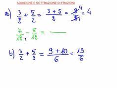 addizione e sottrazione di frazioni.flv