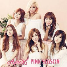 Apink ❀♡ #Naeun #Bomi #Chorong #Hayoung #Eunji #Namjoo #PinkSeason 1/3