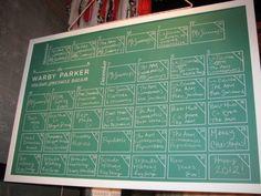 Warby Chalkboard