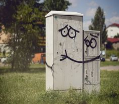 It'll be okay buddy.  --- street art that makes you smile.