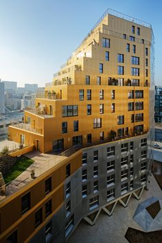 Residential tower in Paris by Hamonic + Masson & Associés and Comte…