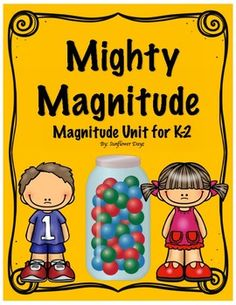Magnitude is such an abstract concept for little ones.  However, this mini-unit has 5 days worth of activities that can be used to supplement your magnitude plans. This packet would be ideal for 1st graders but could easily be adapted to kindergarten and 2nd grade.