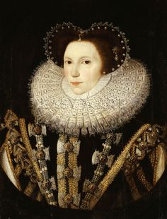 Portrait Of Elizabeth Stafford, Lady Drury, Sir William Segar Prints - Lady in Waiting to Elizabeth of York
