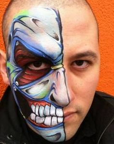 Face Painting Design | Pictures | Face Paint Design #toobuku // www.thebukuproject.com
