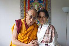 HH Dalai Lama & Aung San Suu Kyi