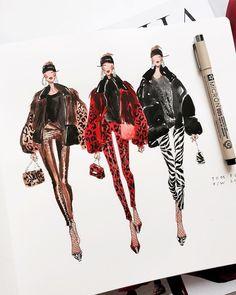 Fashion Sketchbook Inspiration Artists - Famous Last Words Illustration Mode, Fashion Illustration Sketches, Fashion Sketches, Illustration Techniques, Illustration Artists, Couture Mode, Style Couture, Couture Fashion, Portfolio Mode