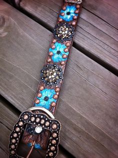 """In case you wanted your dog to match your horse, and your belt. Dog Collars 16 to 24"""""""