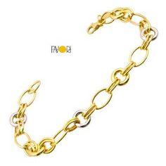 Favori Gold Çiftrenk Taşsız Altın Bileklik