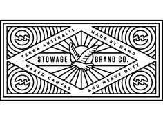 Dribbble - Stowage patch by Keith Davis Young