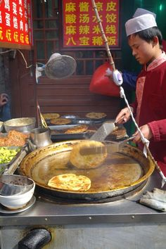 Xi'an, China- Muslim Quarter.  Fantastic street food, and the restaurants are friendly towards westerners.