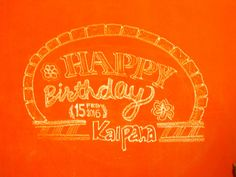Seasons of Birthdays this February on Happy Birthday Hand Lettering, Hand Lettering Art, Rangoli Designs, Letter Art, Chalk Art, Art Portfolio, Birthdays, Neon Signs, Seasons