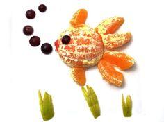 Las contradicciones de un salmón naranja | | Platos con cuento... salmon naranja!