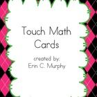 This is a FREE packet of cards designed around the Touch Math program. Each digit has a set of dots on it corresponding to the number. 2nd Grade Math, Math Class, Teaching Math, Maths, Touch Math, Erin Murphy, Daily 5 Math, Math Magic, Math Boards