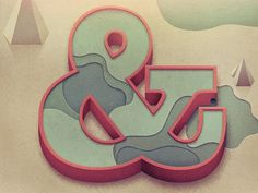 Justin Mezzell #ampersand #typography #illustration