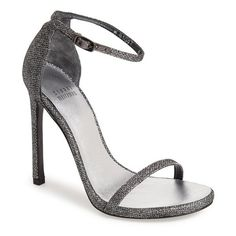 e7d18dc29a3 Women s Stuart Weitzman  Nudist  Sandal ( 398) ❤ liked on Polyvore  featuring shoes
