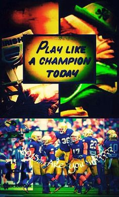Go Irish! Be sure to visit and LIKE our Facebook page at https://www.facebook.com/HereComestheIrish