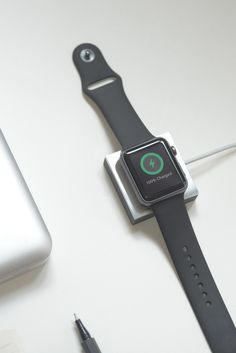 ANCHOR | A Minimal weighted charging pad for Apple Watch