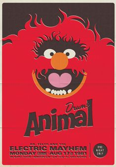 Muppet Music Posters - awesome.