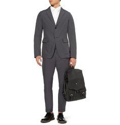 Bill Amberg Hunter Leather Backpack | MR PORTER