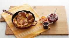 Martha's Dutch baby pancake is inspired by a now-famous recipe from writer and editor David Eyre that was featured in the New York Times in 1966.