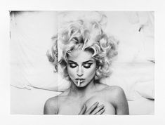 """Anne Collier, """"Folded Madonna Poster"""", photography by Steven Meisel, 2007 Steven Meisel, Divas, Veronica, Magazin Covers, Illustrator, Make Love, Beautiful People, Beautiful Women, Vogue"""
