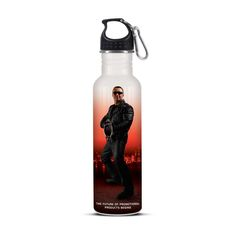 Nomad Eco Safe Full Colour Drink Bottle - 750ml food grade stainless steel drink bottle with a leak proof polypropylene lid. All materials used are recyclable and BPA free. Stainless steel does not require a plastic liner ensuring a chemical and odour free beverage. #flagsdisplaysAU