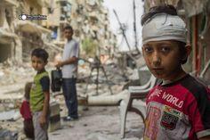 @GAB_AR10: El riesgo de vivir en Siria es ser 'alcanzado' x una bomba o x francotiradores Syrian Children, Snipers, Syria, Bombshells