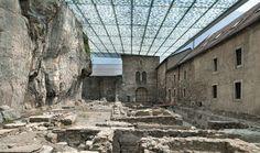 #Architecture in #Switzerland - Abbey of St-Maurice by Savioz Fabrizzi