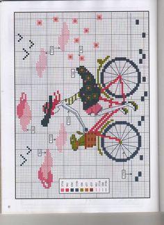 #grafico ponto cruz #criança #ponto cruz