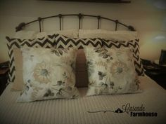 simple, practicle interior design and homemaking Pillow Tutorial, Homemaking, Farmhouse, Throw Pillows, Interior Design, Sewing, Simple, Easy, Nest Design