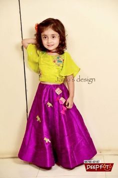 HappyShappy - India's Own Social Commerce Platform Kids Dress Wear, Kids Gown, Dresses Kids Girl, Baby Dresses, Kids Wear, Kids Indian Wear, Kids Ethnic Wear, Kids Frocks Design, Kids Lehanga Design
