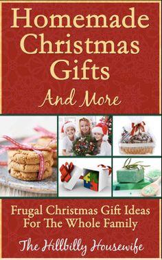 Homemade Christmas Gifts   DIY Homemade Christmas Gift Ideas