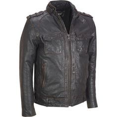 Big & Tall Black Rivet Distressed Leather Jacket w/ Rub-off Seams $429.99                      Our Price Now:                                           $750.00                      Comp Value Was: