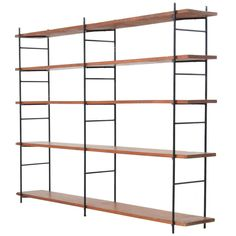 Large Luther Conover Room Divider | From a unique collection of antique and modern shelves at https://www.1stdibs.com/furniture/storage-case-pieces/shelves/