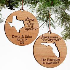 Chicago Map Ornament Heart Ornament Chalkboard Ornament Vintage