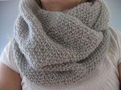 Neulottu tuubihuivi Crochet Chart, Knit Crochet, Handicraft, Knitwear, Weaving, Embroidery, Knitting, My Style, Pattern