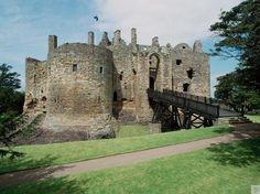 Dirleton Castle, Edinburgh & Lothians. Only a short drive from Edinburgh, Dirleton is perfect for a family day out.  Lots of nooks and crannies for the kids to play in and a fascinating structure for the adults to wander.